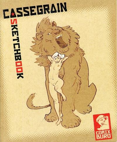 Couverture Sketchbook Cassegrain tome 1