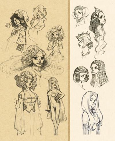 Page 3 Sketchbook Valp