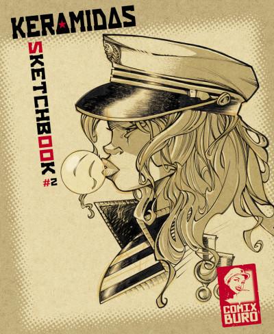 Couverture Sketchbook Keramidas #2