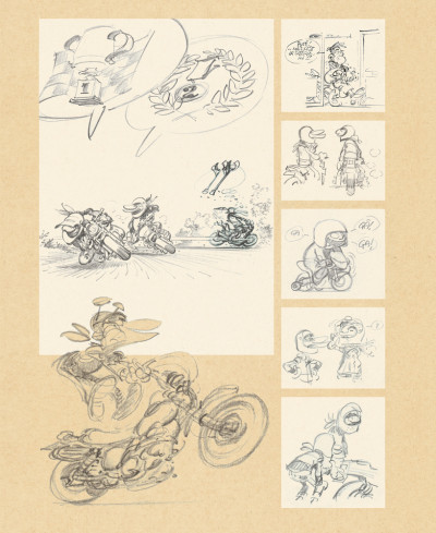 Page 1 Sketchbook Fane