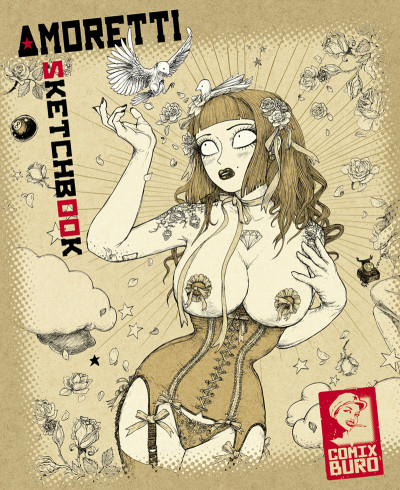 Couverture Sketchbook Amoretti