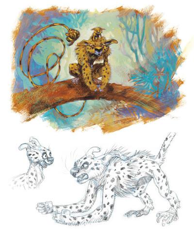 Page 1 Sketchbook Yoann #1