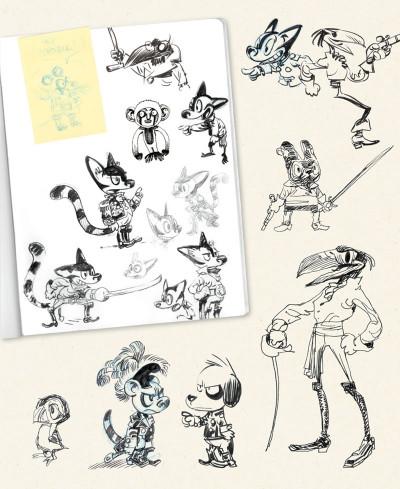 Page 3 Sketchbook Yoann #1