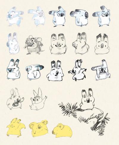 Page 4 Sketchbook Yoann #1
