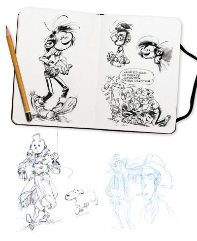 Page 5 Sketchbook Yoann #1
