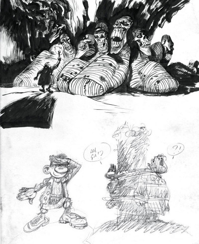 Page 6 Sketchbook Yoann #1