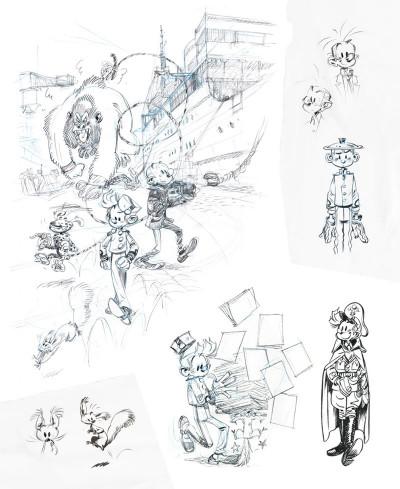 Page 7 Sketchbook Yoann #1