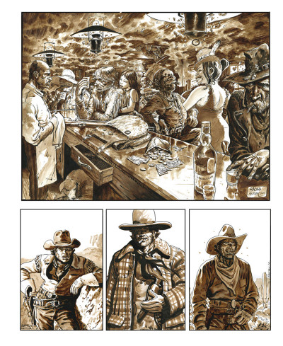 Page 4 Sketchbook Bertail #1