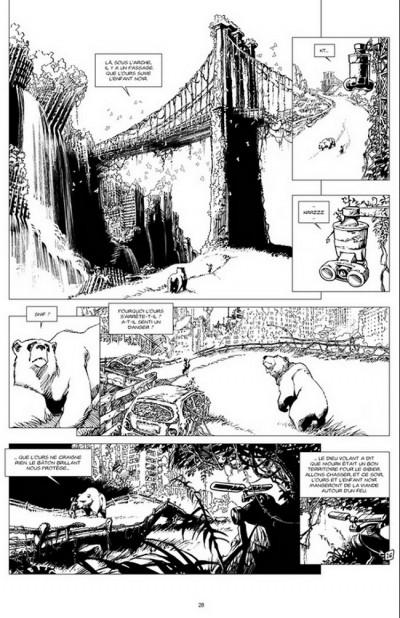 Page 1 Niourk - tirage de tête tome 2 - La ville
