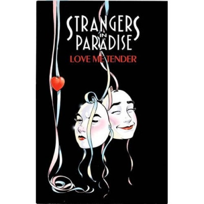 Couverture strangers in paradise tome 4 - love metender