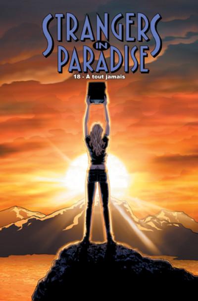 Couverture strangers in paradise tome 18 - à tout jamais
