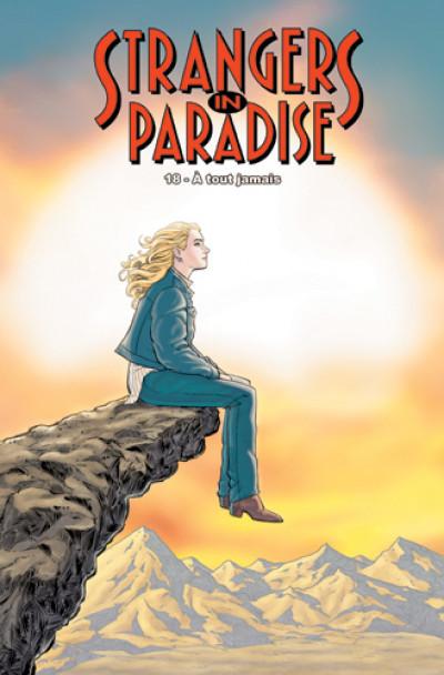 Couverture strangers in paradise T.18 - à tout jamais