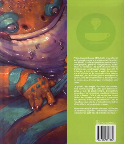 Dos Cfsl.net tome 1 - café salé artbook