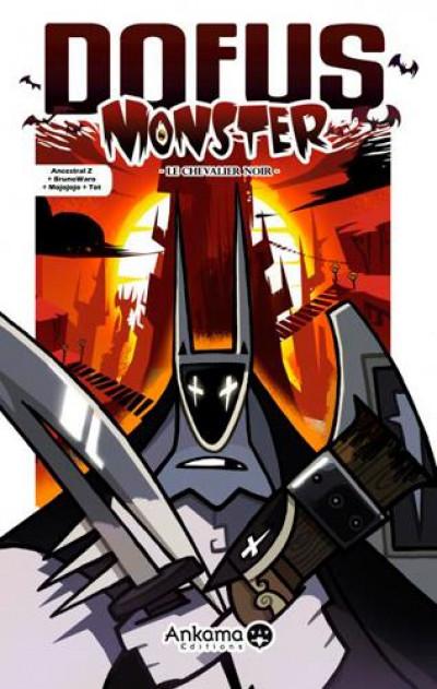 Couverture dofus monster tome 3 - le chevalier noir