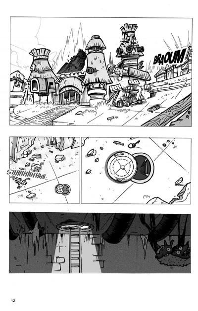 Page 9 dofus tome 7 - la cité de djaul