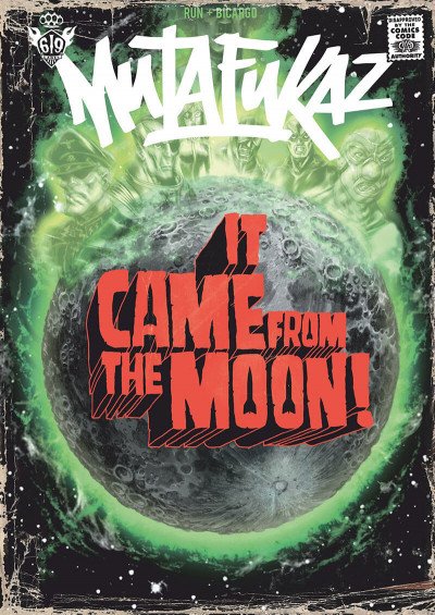 Couverture mutafukaz tome 0 - it came from the moon !