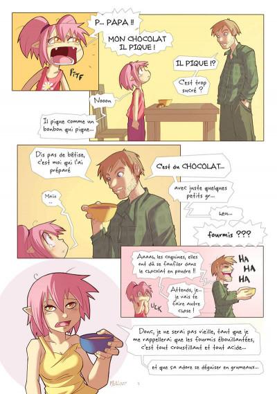 Page 8 maliki tome 2 - une rose à l'amer