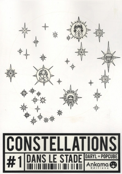 Couverture constellations tome 1 - dans le stade