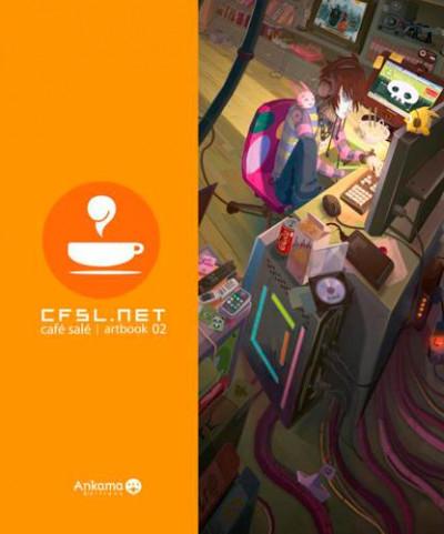 Couverture Cfsl.net tome 2 - café salé artbook