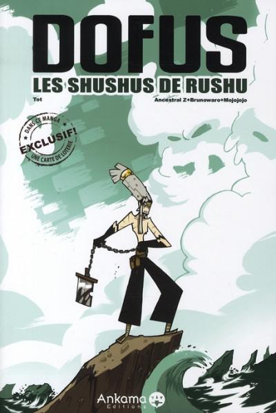 Couverture les shushus de rushu ; dofus