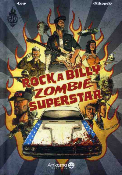 Couverture rock a billy zombie superstar tome 1