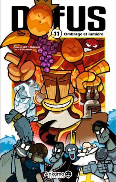 Couverture dofus tome 11 - ombrage et lumière