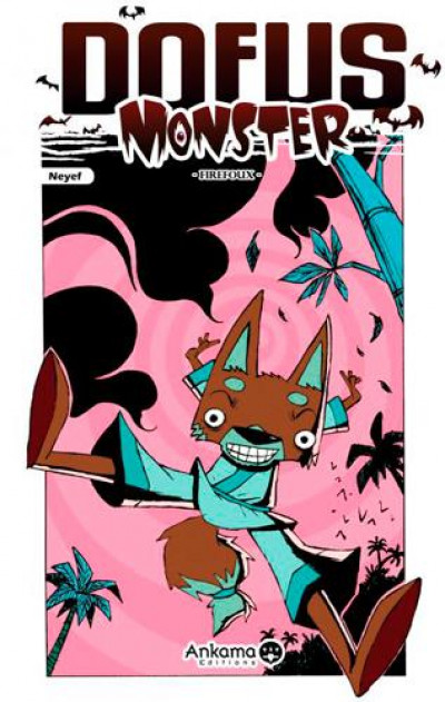 Couverture dofus monster tome 4 - firefoux