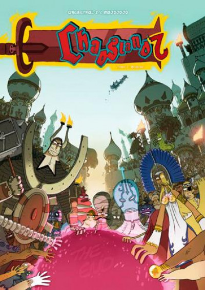 Couverture chaosland tome 2