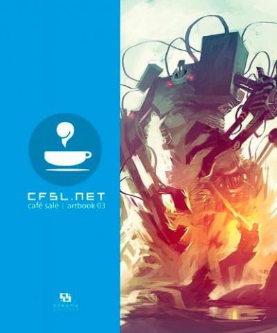 Couverture Cfsl.net tome 3 - café salé artbook