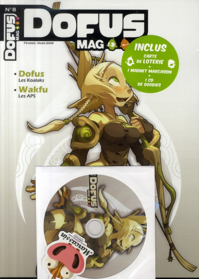 Couverture dofus mag tome 8