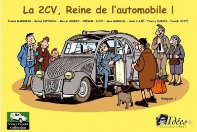 image de la 2CV, reine de l'automobile !