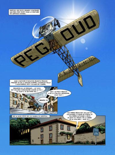 Page 1 Histoires de pilotes tome 3 - Célestin Adolphe Pégoud