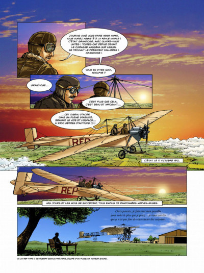 Page 5 Histoires de pilotes tome 3 - Célestin Adolphe Pégoud