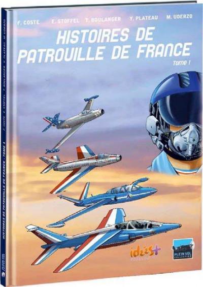 Couverture histoires de patrouille de France tome 1