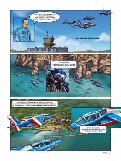 Page 1 histoires de patrouille de France tome 1