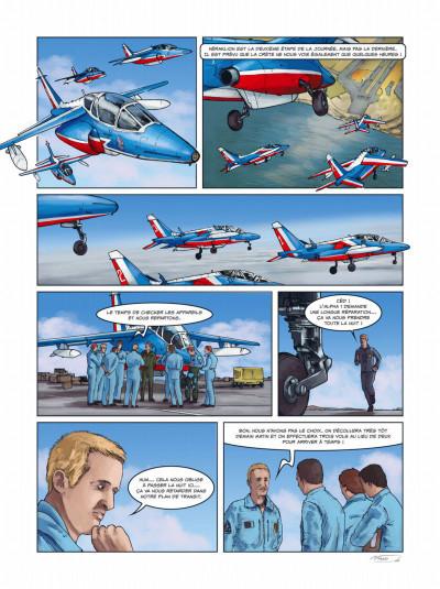 Page 3 histoires de patrouille de France tome 1