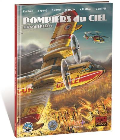 Couverture Pompiers du ciel - tirage spécial