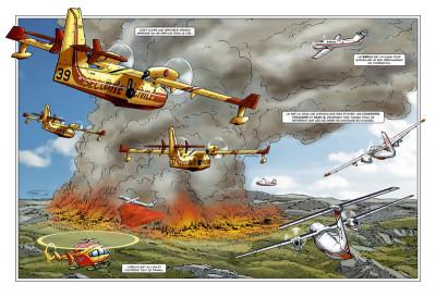 Page 1 Pompiers du ciel - tirage spécial