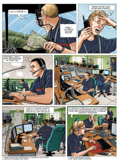 Page 4 Pompiers du ciel - tirage spécial