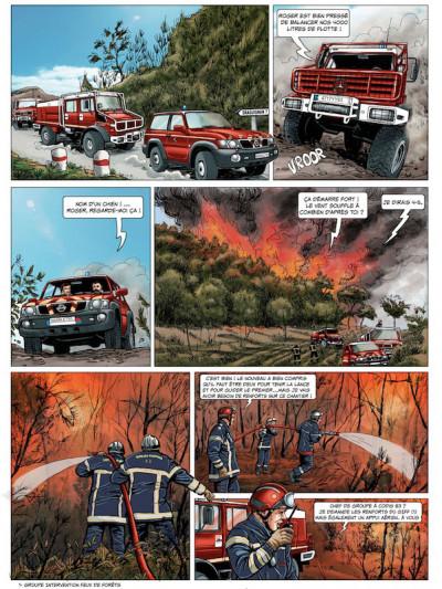 Page 5 Pompiers du ciel - tirage spécial