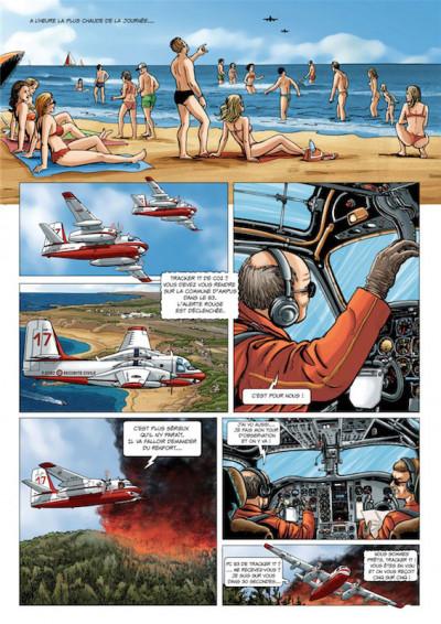 Page 7 Pompiers du ciel - tirage spécial