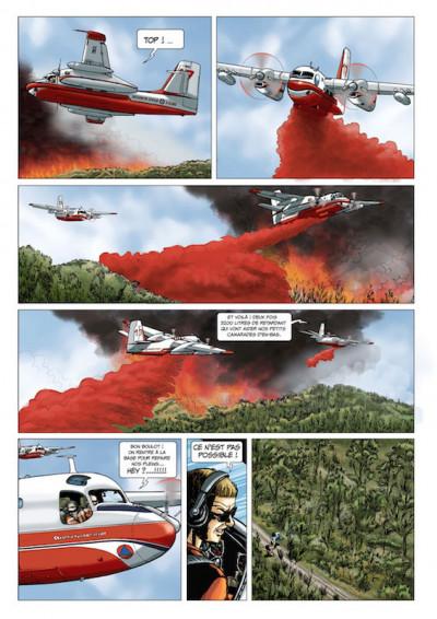 Page 8 Pompiers du ciel - tirage spécial