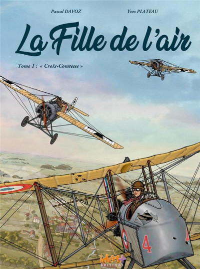 Couverture La fille de l'air tome 1