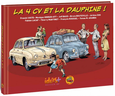 Couverture La 4CV et la Dauphine
