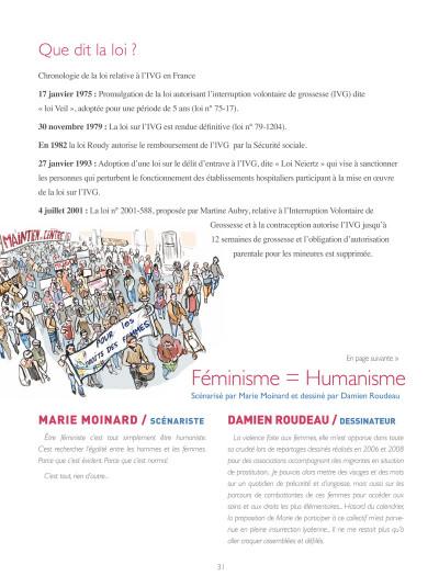 Page 3 en chemin elle rencontre... tome 2 - les artistes se mobilisent pour le respect des droits des femmes