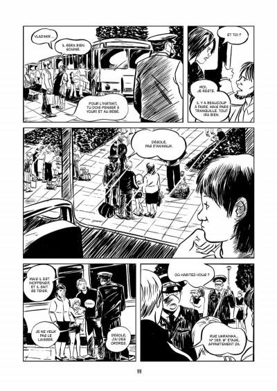 Page 4 Tchernobyl ; la zone