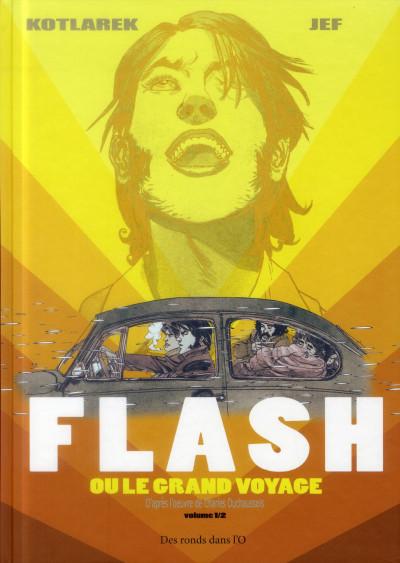 Couverture flash ou le grand voyage tome 1