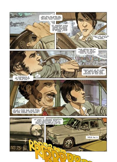 Page 1 flash ou le grand voyage tome 1