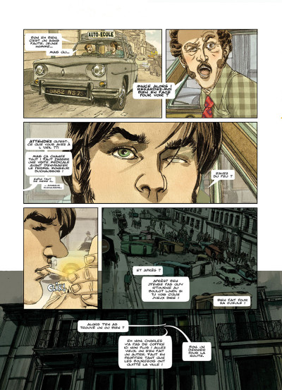 Page 2 flash ou le grand voyage tome 1