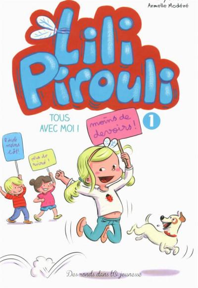 Couverture Lili Pirouli tome 1